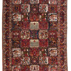 "New Antique-Style Garden Design Rug 6'10""×10'4"""