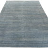"New Blue and Beige Hand-Knotted Wool Rug 13'10""×19'6"""