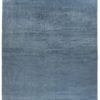 "New Blue and Ivory Hand-Knotted Wool Rug 14'0""×20'3"""