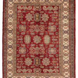 "New Fine Kazak Style Wool Area Rug 5'3""×6'5"""