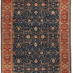 "New Hand Knotted All-Over Style Wool Rug 11'10""×17'4"""