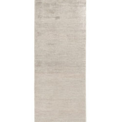 "New Hand-Knotted Indo Runner 2'6""×12'0"""