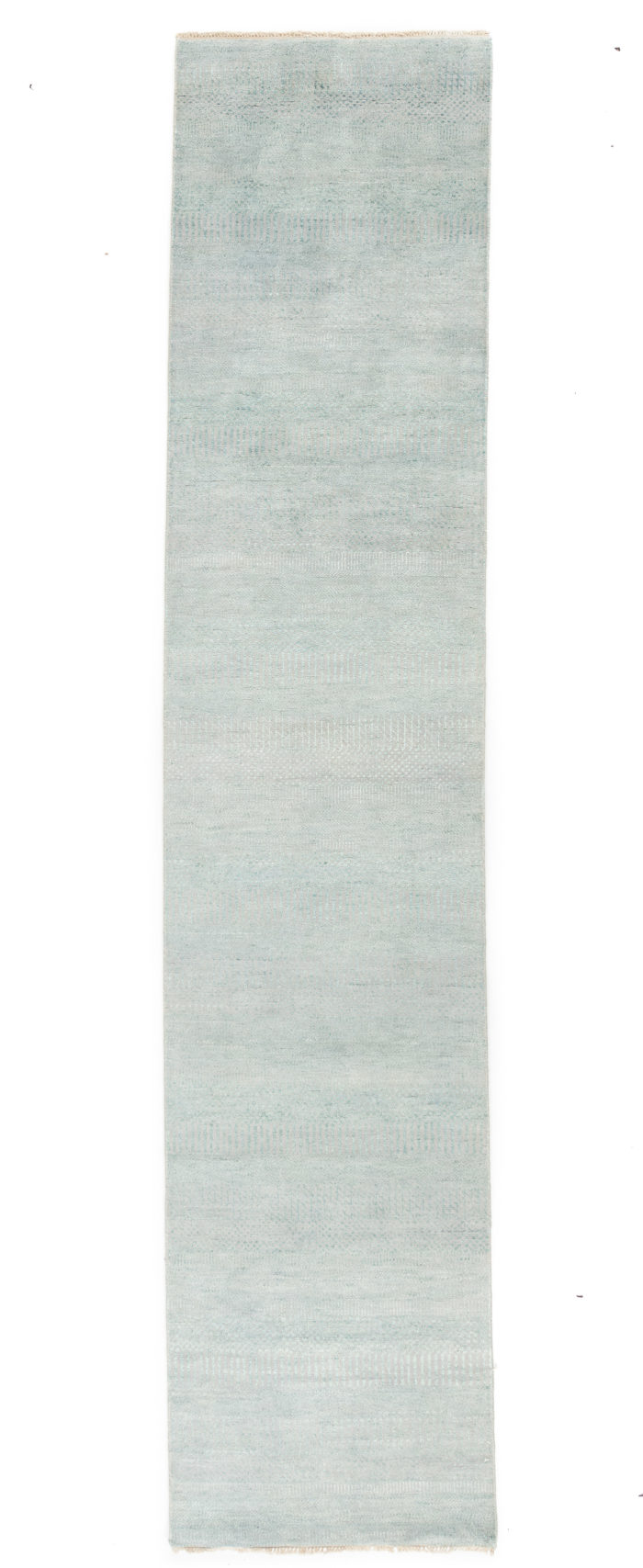 """New Hand-Knotted Indo Runner 2'8""""×12'5"""""""