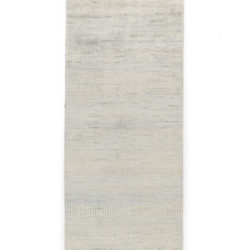 "New Hand-Knotted Indo Runner 2'9""×10'1"""