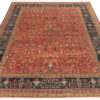 """New Hand-Knotted Modern Serapi Style Rug 9'2""""×11'10"""""""