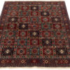 """New Hand-Knotted Wool Rug 5'1""""×6'7"""""""