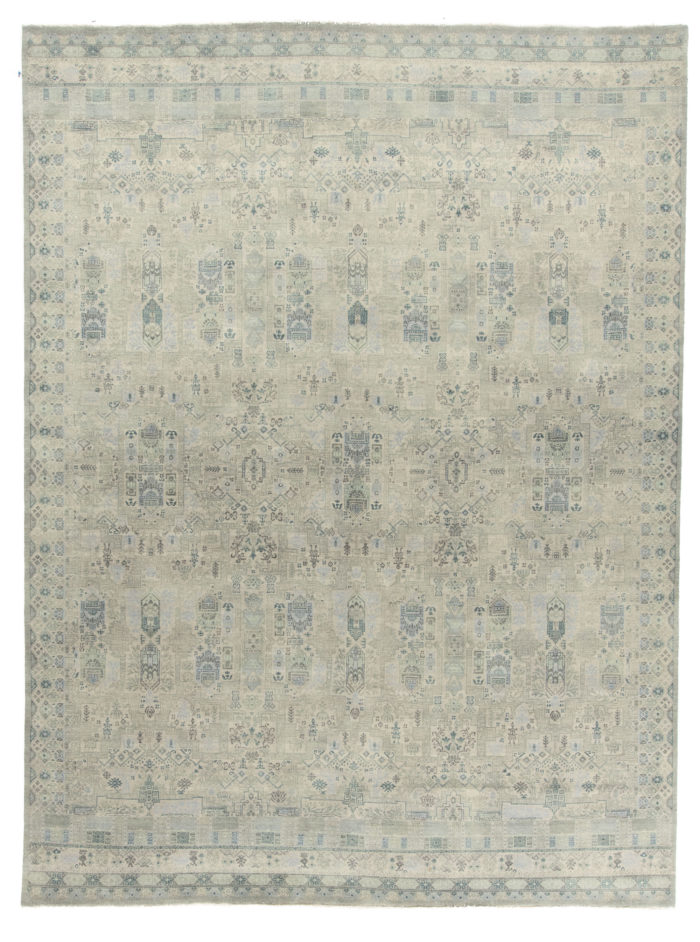 "New Indian Transitional Design Rug 9'0""×12'0"""
