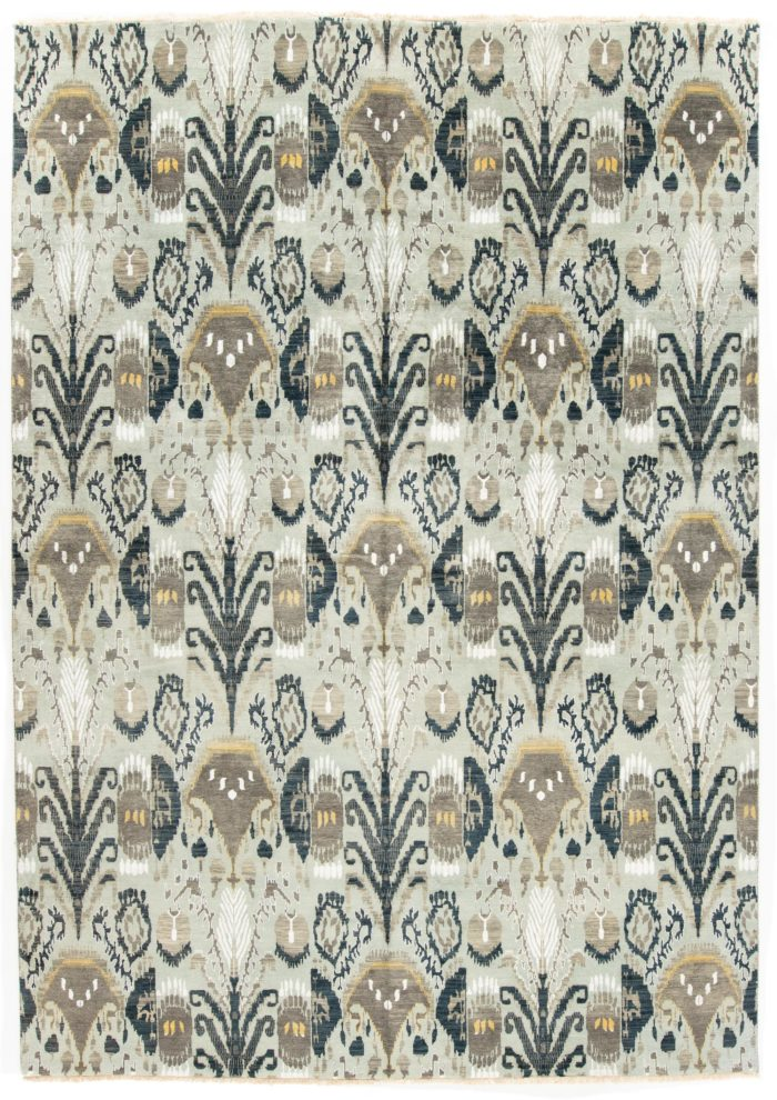 "New Indo Ikat Rug 10'0""×14'3"""