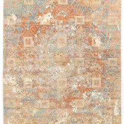 "New Indo Ikat Rug 9'10""×14'2"""
