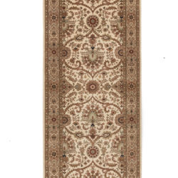 "New Indo-Kashan Runner 2'8""×10'1"""