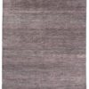 "New Indo Savannah Transitional Gray Purple Rug 6'3""×9'2"""