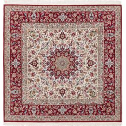 "New Isfahan Rug 6'7""×6'7"""