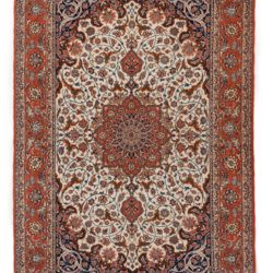 "New Isfahan Rug 5'3""×7'10"""