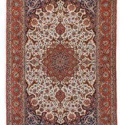 """New Isfahan Rug 5'3""""×7'10"""""""