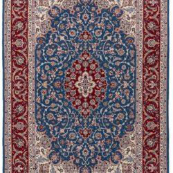 """New Isfahan Rug 4'4""""×6'6"""""""