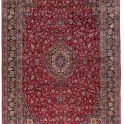 "New Kashan Persian Large Rug 9'8""×16'10"""