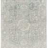 "New Light Blue Timeless Design Indo Ikat Rug 9'1""×12'1"""