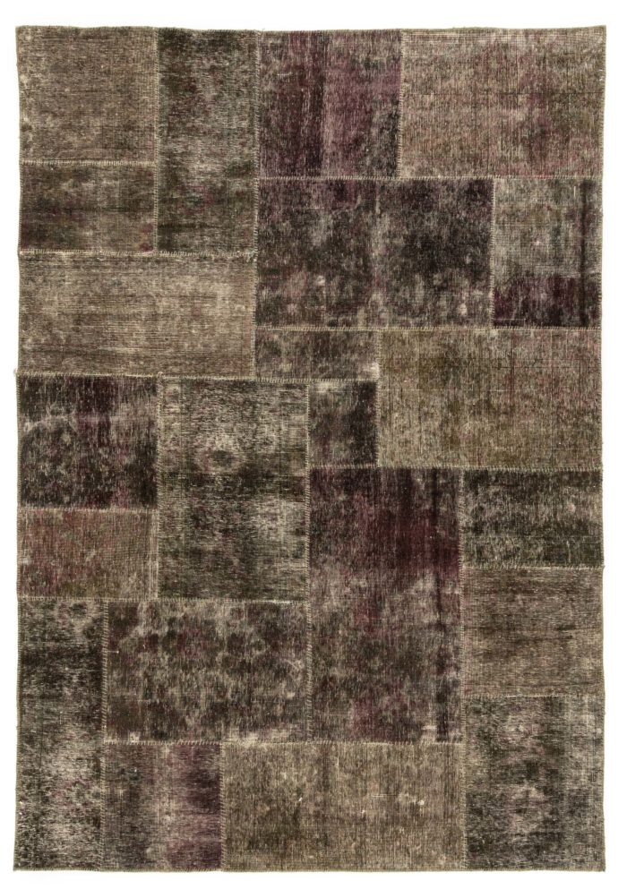 """New Over-Dyed Patchwork Rug 6'3""""×9'0"""""""