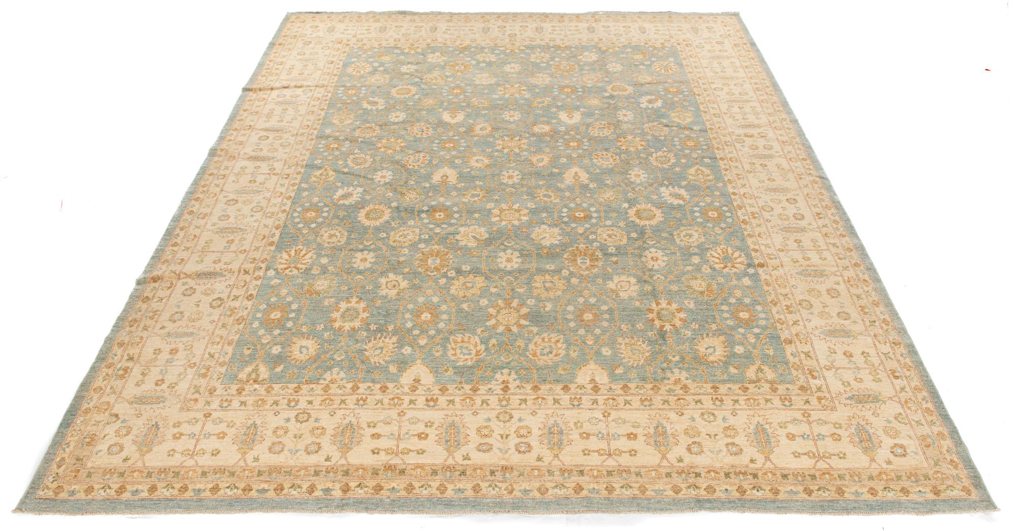"""New Pak Chobi Carpet 12'0""""×14'4"""""""