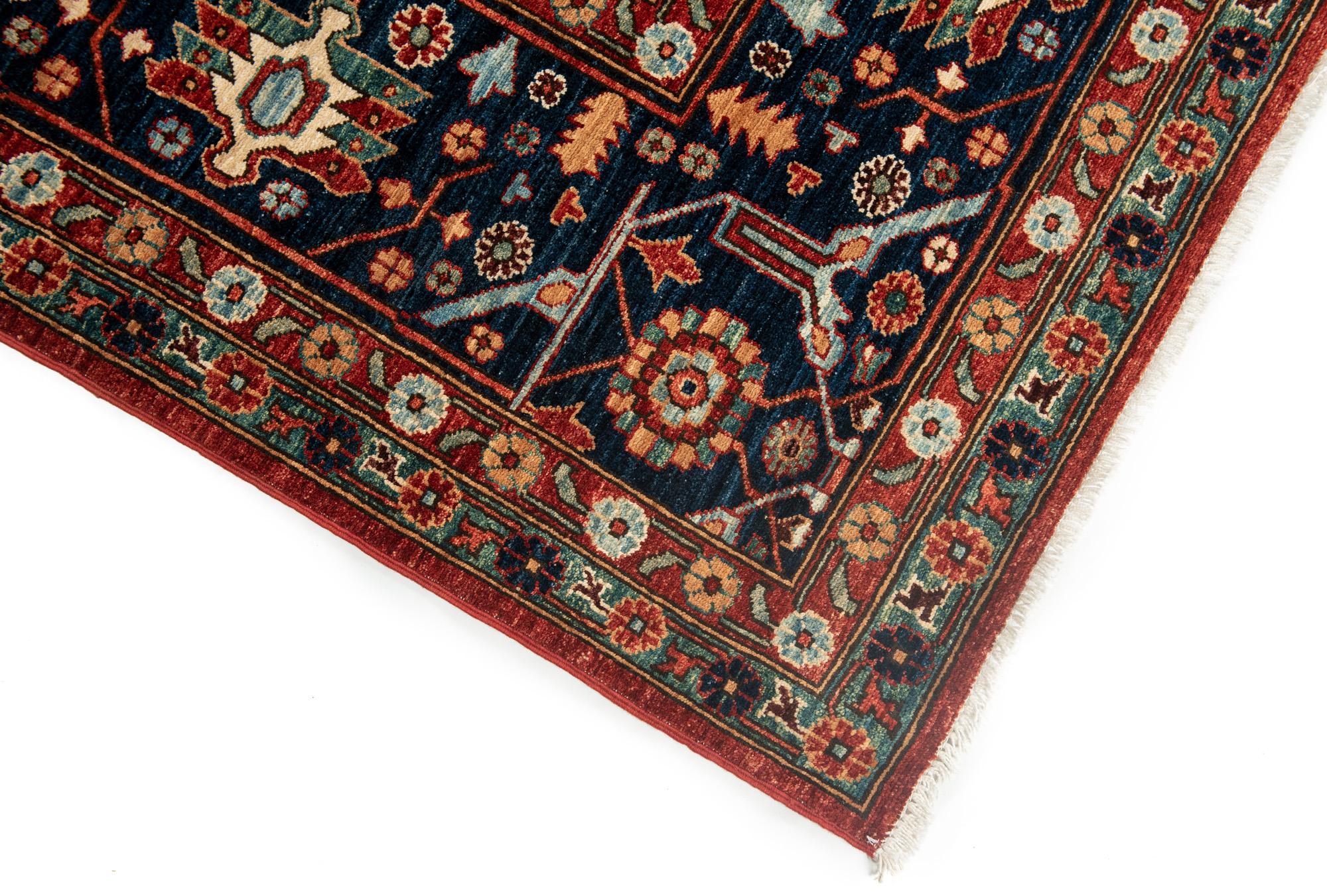"New Pak Heriz-style Carpet 12'9""×15'10"""