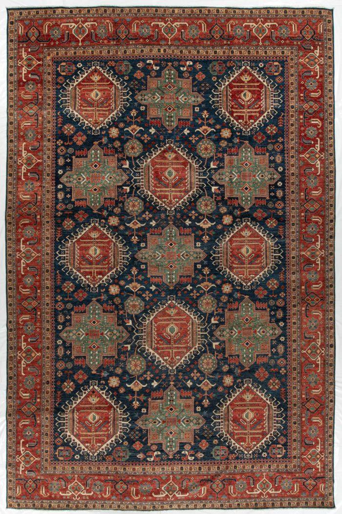 "New Pak Karadja Carpet 11'10""×18'4"""