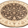 """New Pak Oushak Round Floral Field Rug 7'8""""×8'1"""""""