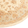 """New Pak Oushak Round Floral Field Rug 8'1""""×8'1"""""""