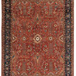 """New Pak Serapi with All-Over Design Carpet 9'0""""×11'9"""""""