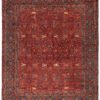 """New Paki Farahan Floral Vine Wool Hand-Knotted Rug 12'4""""×14'7"""""""