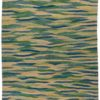 "New Paki Kilim with Wave Design 8'3""×9'10"""