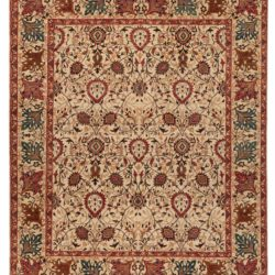 "New Pakistani Farahan-Sarouk Carpet 8'4""×9'10"""