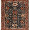 "New Pakistani Heriz-style Carpet 7'10""×9'10"""