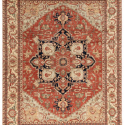 "New Pakistani Serapi Rug 9'0""×11'10"""
