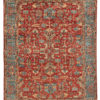 "New Pakistani Serapi Rug 8'10""×12'1"""