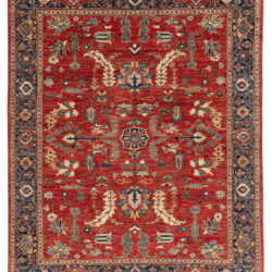 "New Pakistani Serapi Rug 8'1""×9'10"""