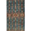 "New Pakistani Transitional Hand-Knotted Tribal Wool Runner 2'8""×10'0"""