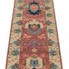 "New Pakistani Transitional Hand-Knotted Wool Serapi Style Runner 2'7""×10'3"""