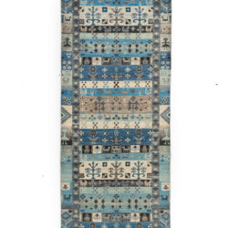 "New Pakistani Tribal-style Runner 2'7""×9'10"""
