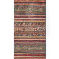 "New Pakistani Tribal-style Runner 2'9""×9'9"""
