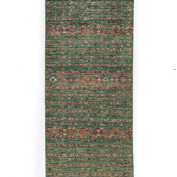"New Pakistani Tribal-style Small Runner 2'8""×9'10"""