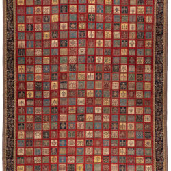 "New Persian Gabbeh Rug 13'4""×19'0"""