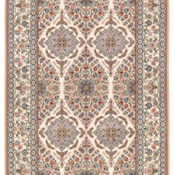 "New Persian Isfahan Rug 4'9""×7'1"""