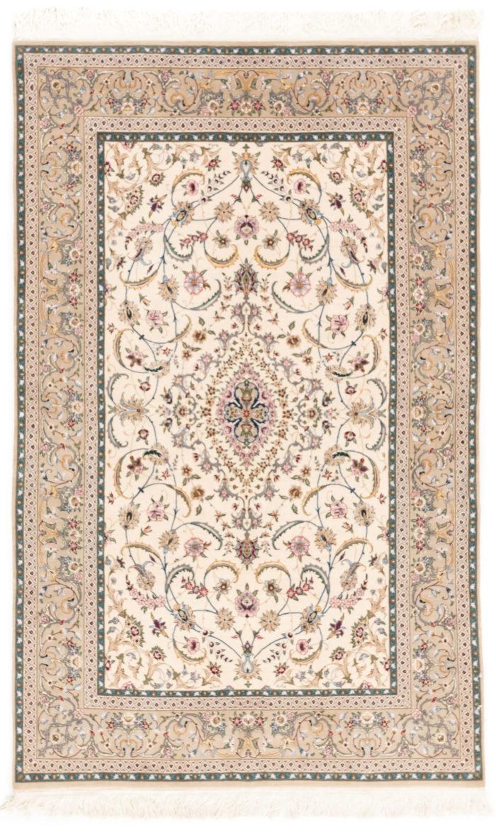 """New Persian Isfahan Rug 4'3""""×6'10"""""""