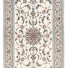 """New Persian Isfahan Rug 3'10""""×6'0"""""""