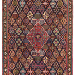 "New Persian Joshegan Rug 4'10""×7'11"""