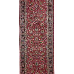 "New Persian Persian Meshad Runner 3'7""×25'3"""