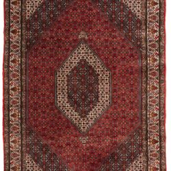 "New Persian Rug with Antique Bidjar Design 6'10""×10'1"""