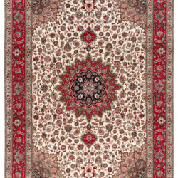 "New Persian Tabriz Rug 8'6""×11'10"""