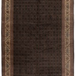 "New Tabriz Rug Hand-Knotted Wool with All-Over Design 11'5""×16'6"""