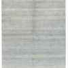 "New Transitional Light Blue and Ivory Rug 6'2""×9'1"""
